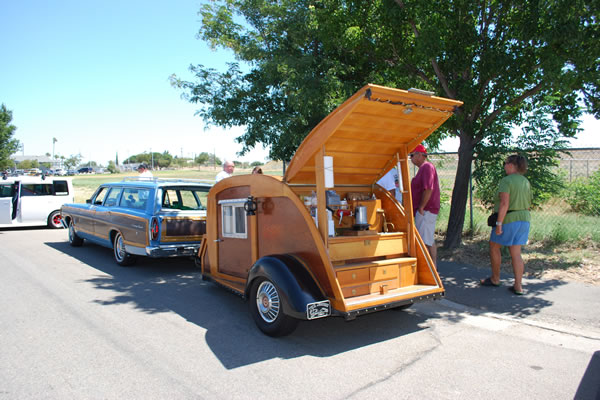 Photo of Teardrop trailer at Bethel Island's 50's Bash